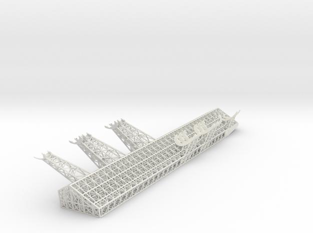 Mandible Starboard V0.4 in White Natural Versatile Plastic