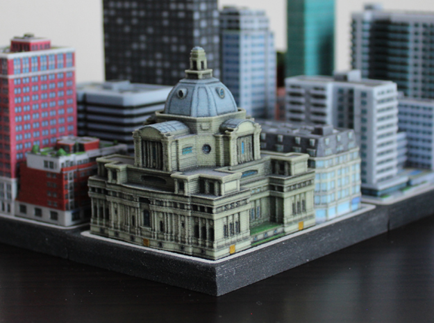 Central Hall Westminster 5 x 4  in Full Color Sandstone