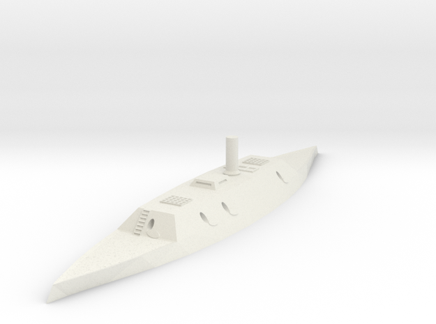 CSS Savannah/Richmond 1/600 3d printed