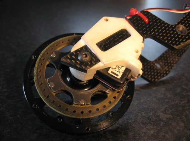SB5 Front Brake Servo Mount Version 2 3d printed
