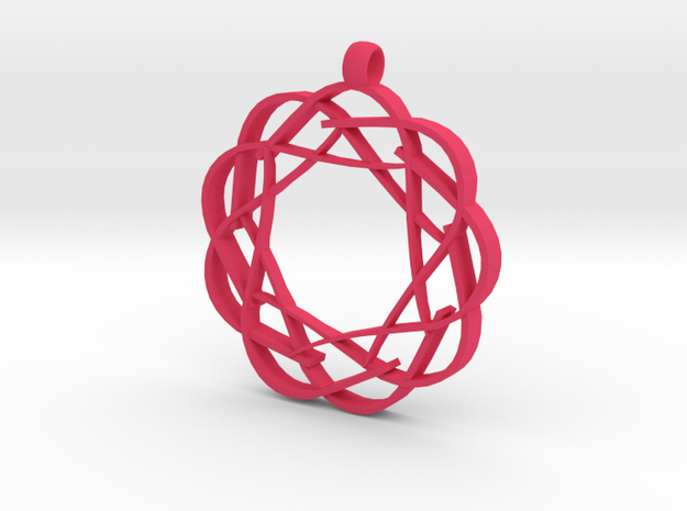 Accident Pendent 3d printed