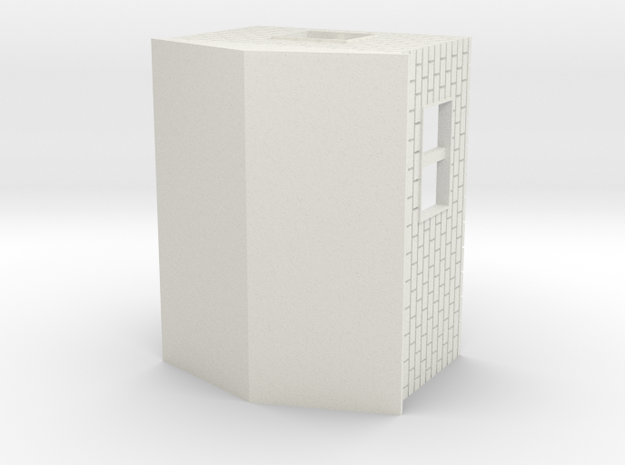 Garage 1:120 in White Natural Versatile Plastic