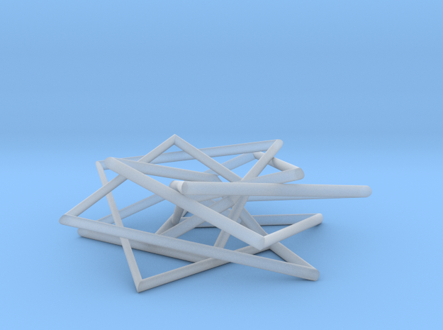 7 Strand Pentagonal Pendant