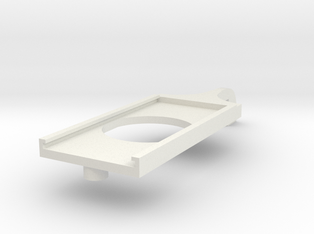 Cloud Car Mount Cover in White Natural Versatile Plastic
