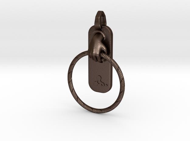HulaHoop Pendant 3d printed