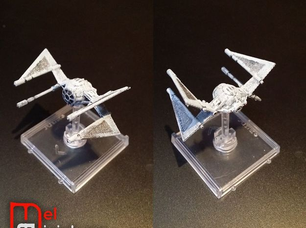 TIE Hunter 1/270  in White Strong & Flexible
