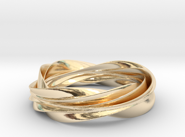 Nibelung's Ring in 14K Yellow Gold