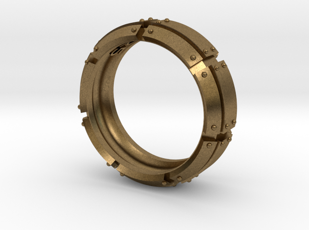 Armored Ring 3d printed