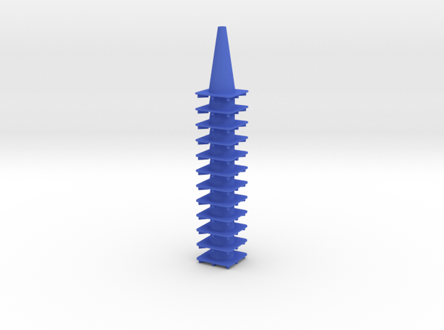 "18"" traffic cones 1/12th (12) 3d printed"