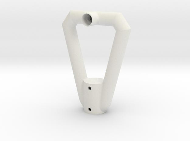 Sopwith Spade Grip in White Natural Versatile Plastic