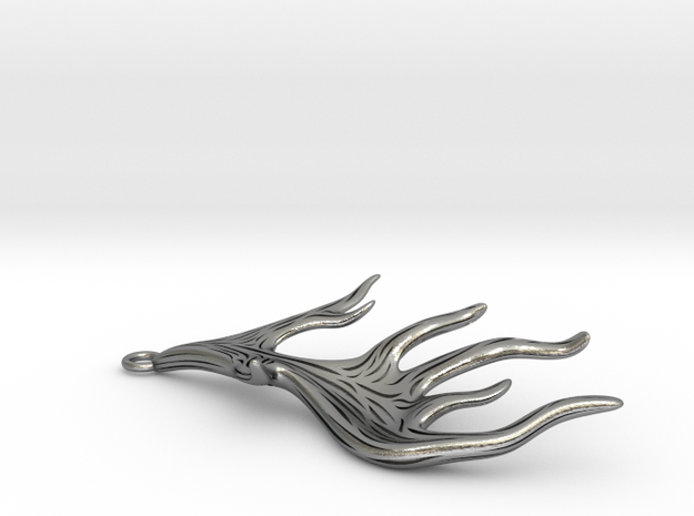 Antlers in Raw Silver
