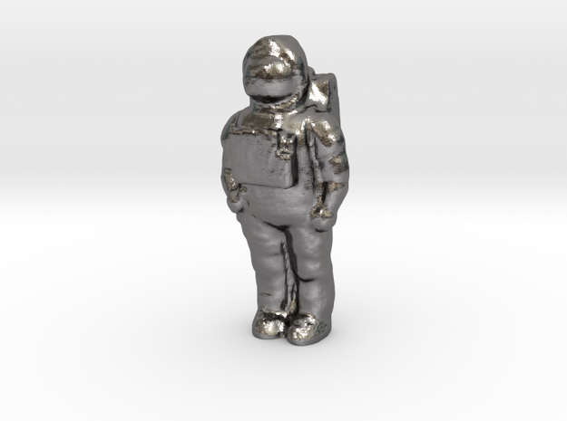Cosmic Kidds Astronaut in Polished Nickel Steel
