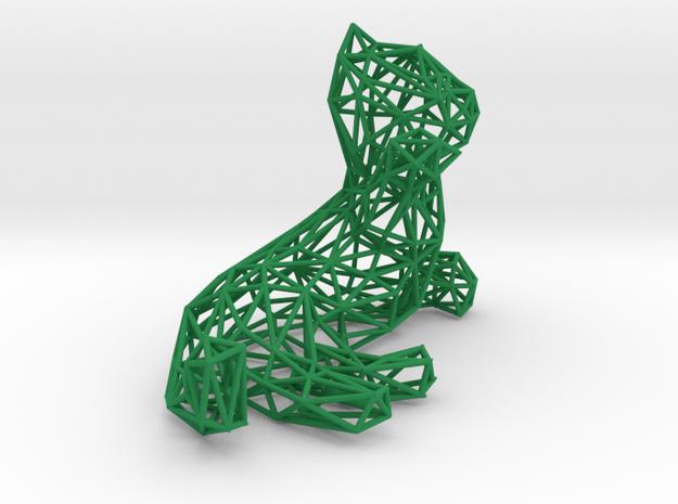 3D Lying Kitten 3d printed