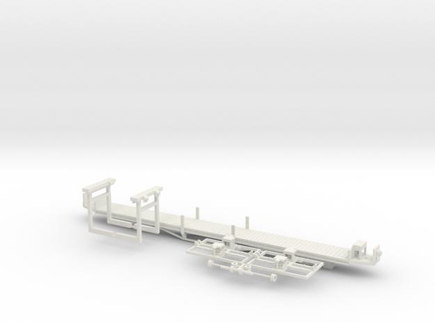 sl1 Wiener Linien Arbeitsbeiwagen in White Strong & Flexible