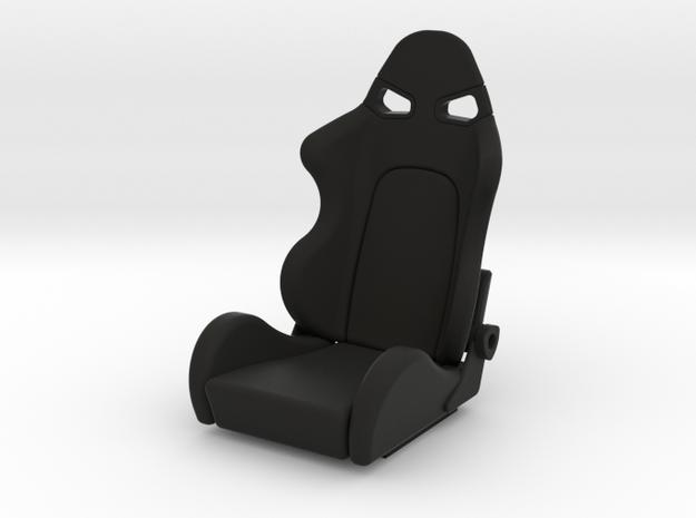 Race Seat - SType - 1/10 in Black Natural Versatile Plastic