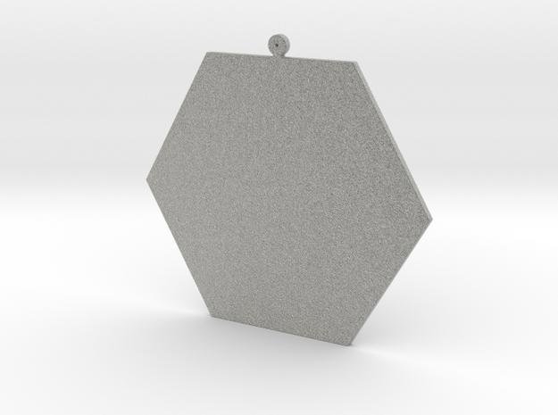 EYE Pendant in Metallic Plastic