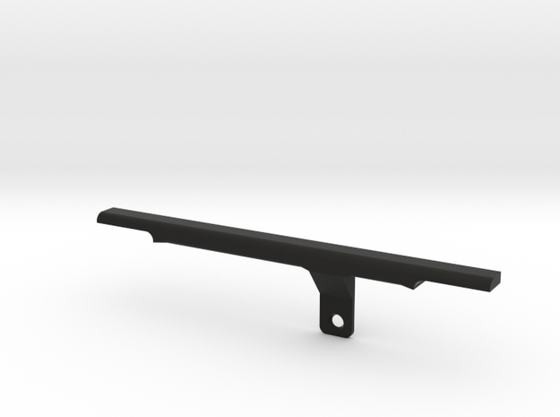 ThumbRail - Bridge No Guard - Fender Jazz in Black Strong & Flexible
