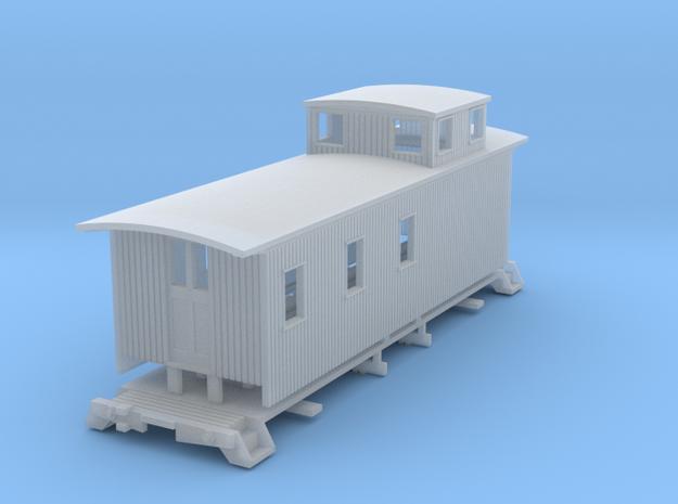 HOn3 30ft Caboose D 3d printed