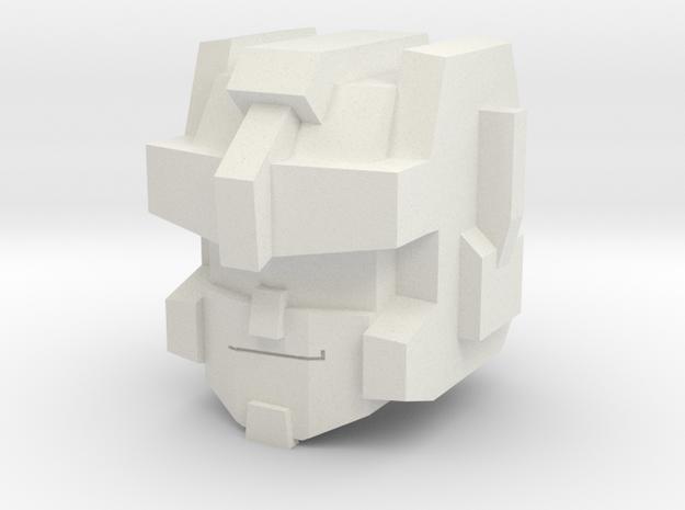 ThunderBlades Head Deluxe in White Natural Versatile Plastic