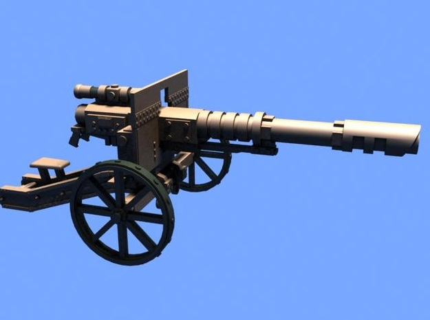 28mm Steampunk Laser cannon