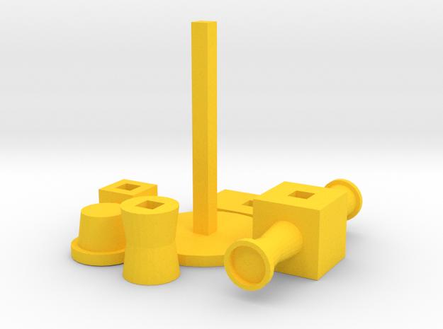 3D piramid 3d printed