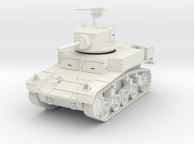 PV29A M3 Stuart -late turret (28mm) 3d printed