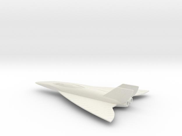 1/200 CONVAIR FISH RECON (SUPER HUSTLER) in White Strong & Flexible