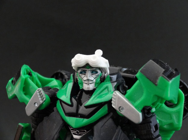TF4: AOE Crosshairs Toy Goggles in White Natural Versatile Plastic