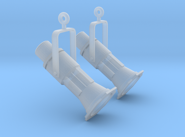 Earring Theater Light 3d printed