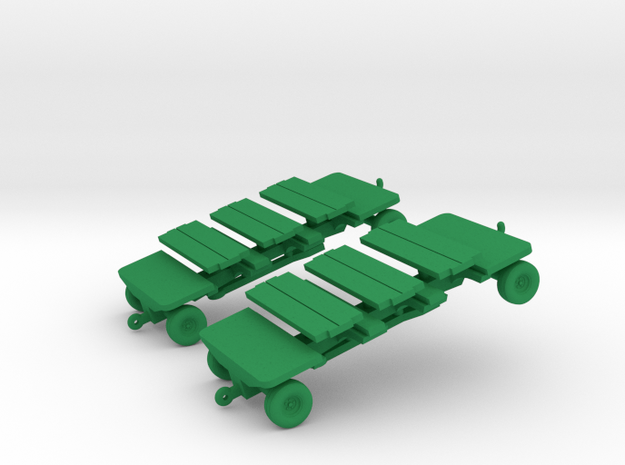 1/144 MHU-226 Munitions Trailer (2X) (finished) 3d printed