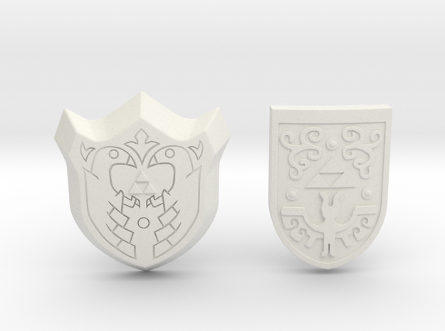 Shield Pack III 3d printed Painted Frosted Ultra Detail
