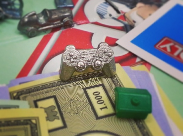 Gamer - Monopoly Game Piece (Rags to Riches Series