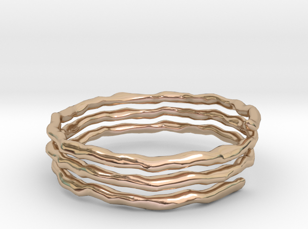Helix Ring size 9 in 14k Rose Gold