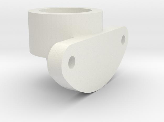 Sopwith Camel Pulsometer Base in White Natural Versatile Plastic