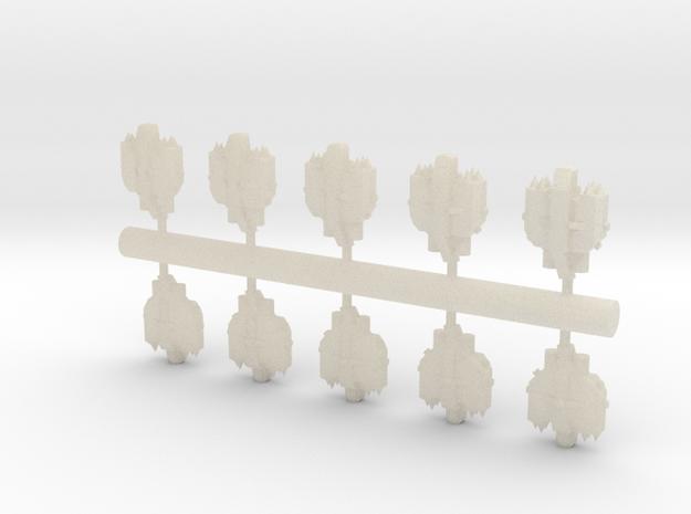 10 Human Alliance bombers 3d printed
