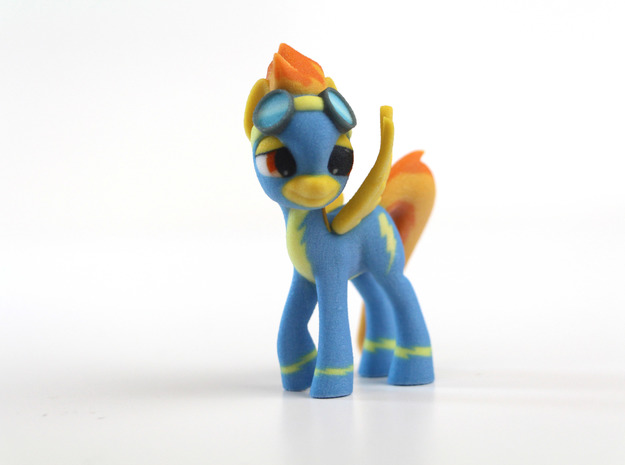 My Little Pony - Spitfire (≈80mm tall) in Full Color Sandstone