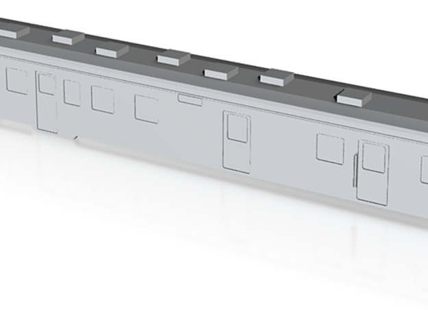JNR KiHaYuNi26 Diesel Railcar - (T Gauge/1:450) 3d printed