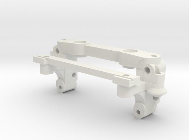 AA Mount V6 in White Natural Versatile Plastic