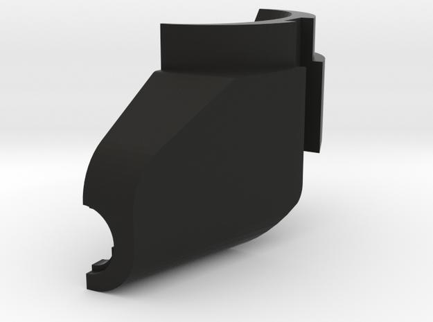 British Gunsight Light Holder Lh Side in Black Natural Versatile Plastic