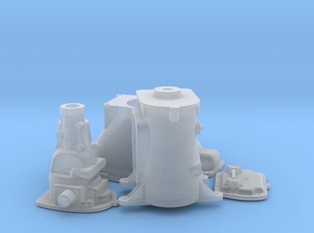 1/16 Mopar With Muncie 4 Speed Transmission 3d printed