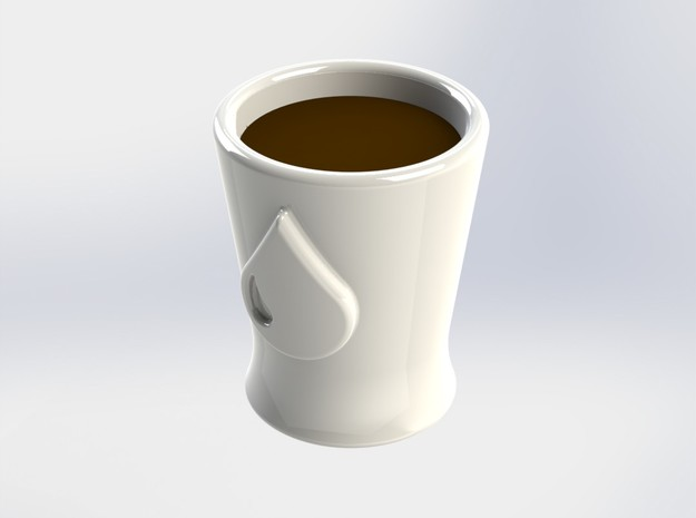 Espresso Cup / Shot Glass - EDM 3d printed