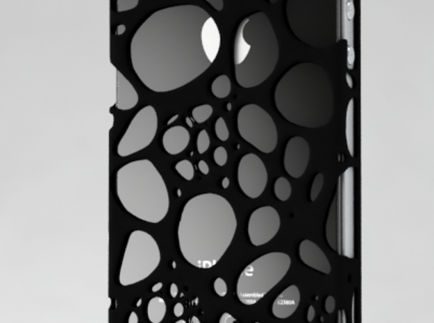 IPhone 4/4S - Cell Case 3d printed Black Polyamide