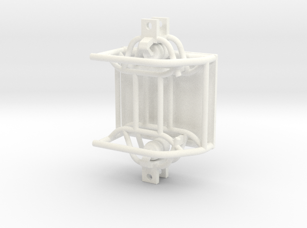 AIR RIDE FRONT END in White Processed Versatile Plastic