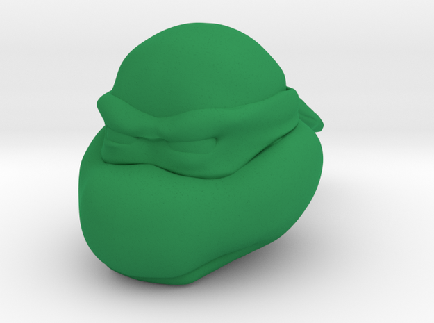 Radioactive Amphibian Power Hero (R.A.P.H.)  in Green Processed Versatile Plastic