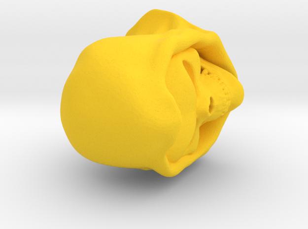 Filmationskeletor in Yellow Processed Versatile Plastic