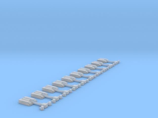 Dachlichtroboter  in Smooth Fine Detail Plastic