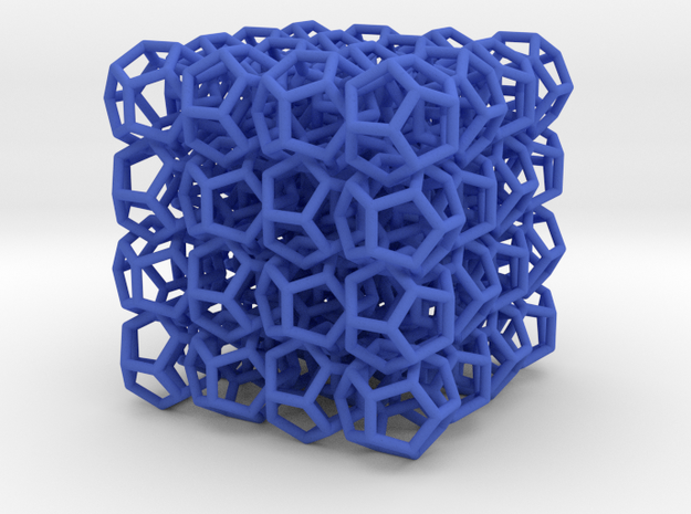 Dod'Net Thick in Blue Processed Versatile Plastic