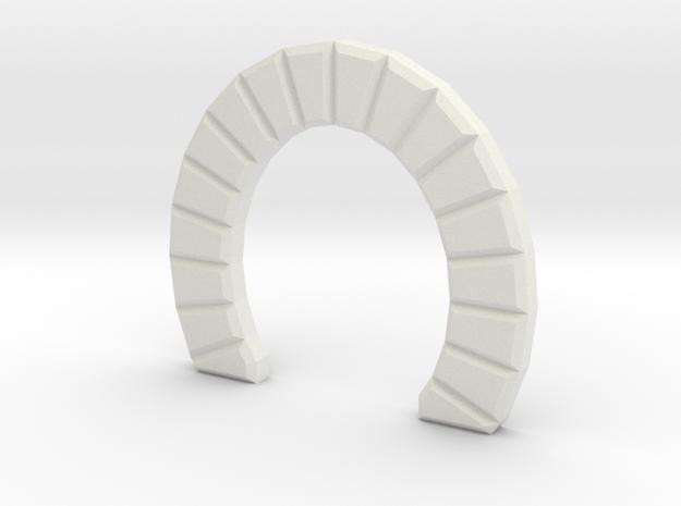 Z SINGLE TRACK STONE TUNNEL in White Natural Versatile Plastic