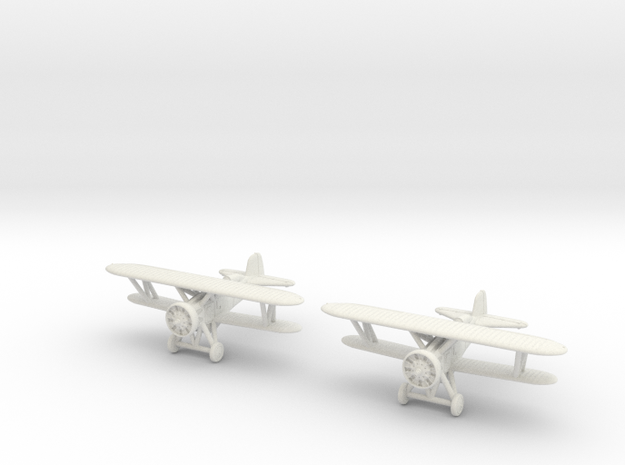 1/200 Boeing F4B-4 / P-12 (x2) in White Strong & Flexible