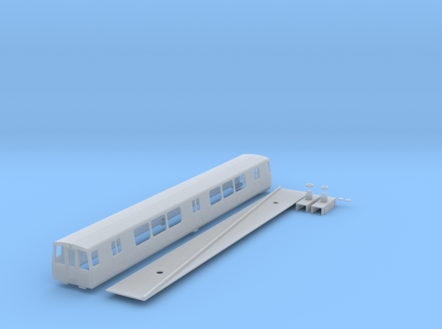n scale 1:160 washington dc Metro 1000 series in Smooth Fine Detail Plastic